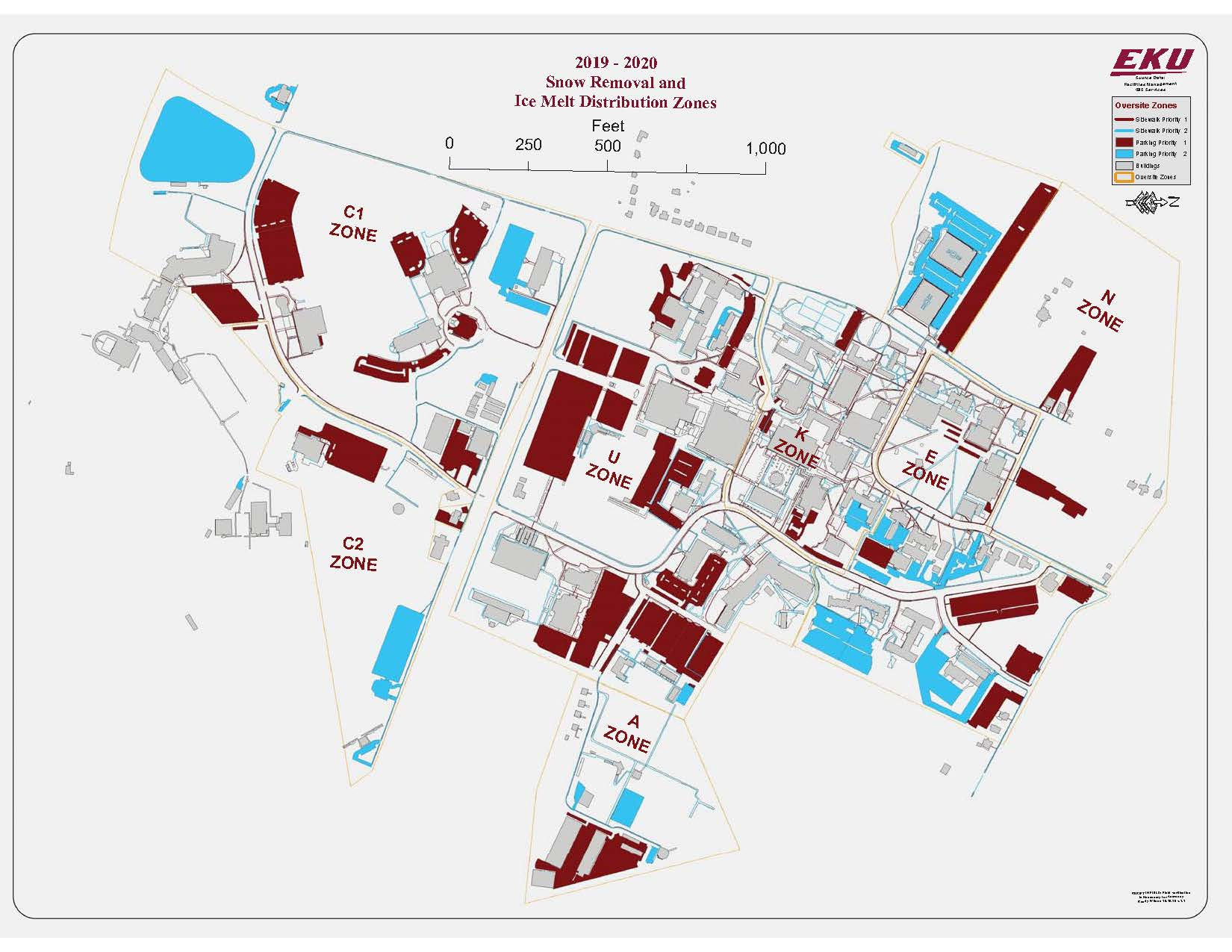 2019-2020 Snow Removal and Ice Melt Distribution Plan